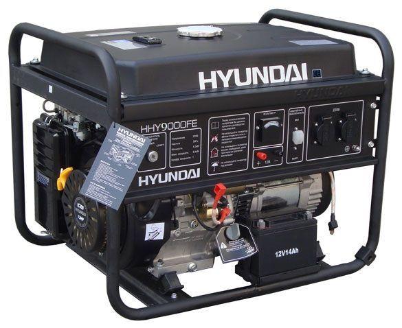 hyundai миниэлектростанция
